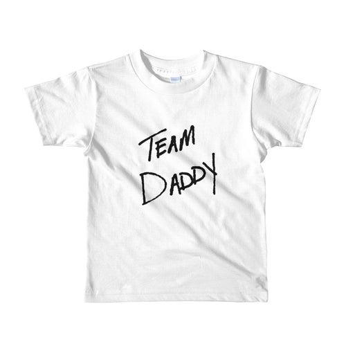 Team Daddy Short Sleeve Kids Tee