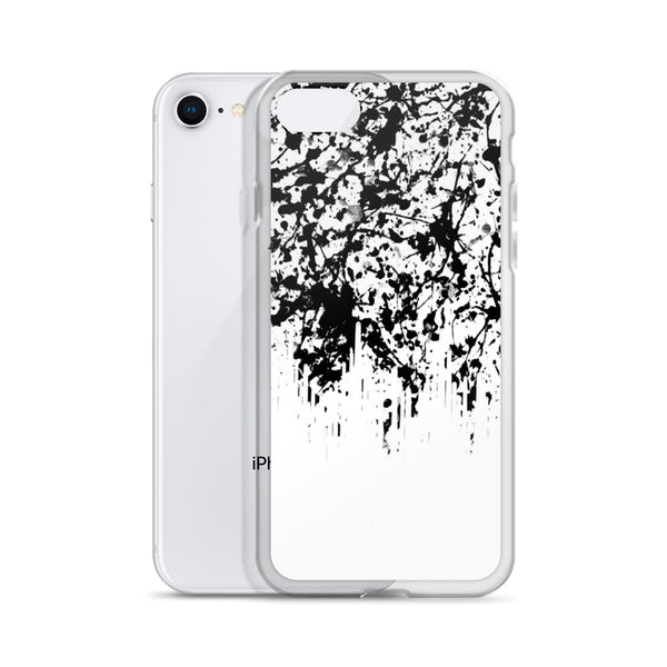 Noir Film Static Drip iPhone Case