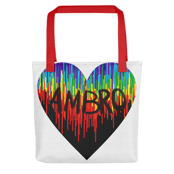 Psychedelic Heart Logo Tote bag