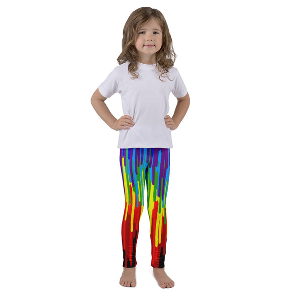 Psychedelic AMBRO Print Kid's Leggings