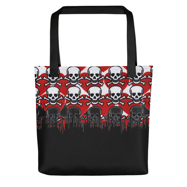 Poison Love Two Tone Tote bag