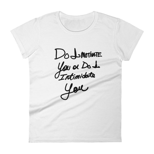 """Do I Motivate You"" Fashion Tee"
