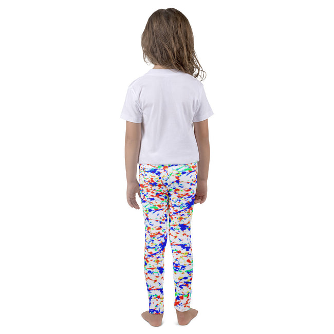 Multiple Color Splatter Kid's Leggings