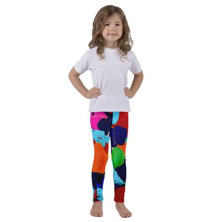 Girl's Psychedelic Heart Youth Fashion Tee