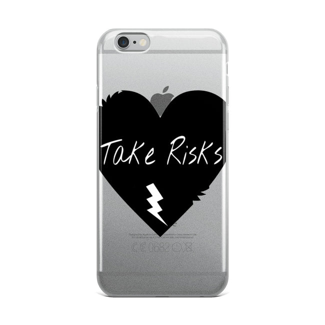 Risky Heart iPhone Case