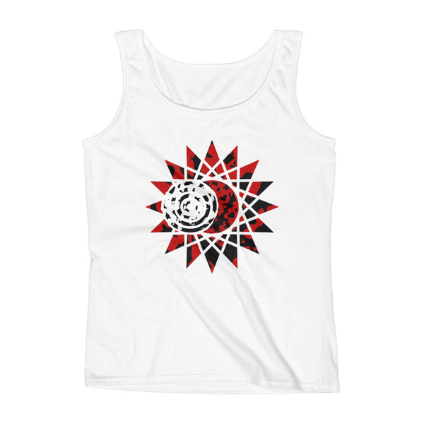 """Journey To Totality"" Eclipse Chaser Ladies Loose Fit Tank"