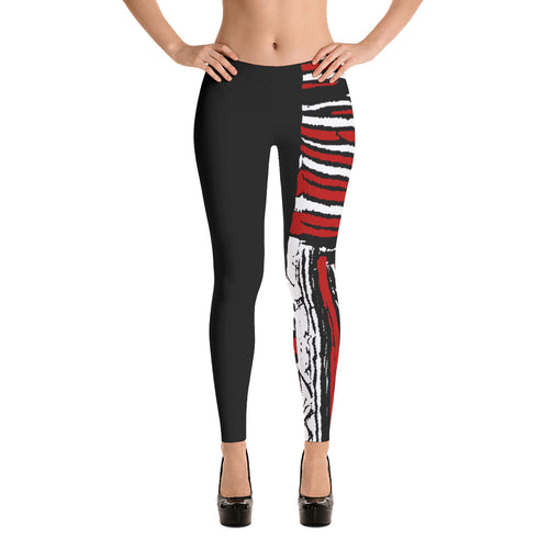 NEW Noir Rosso Smooth & Silky Leggings