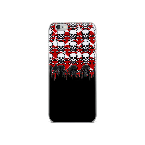 Two Tone Poison Love iPhone Case