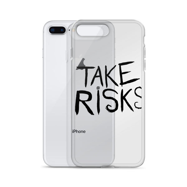 Take Risks iPhone Case