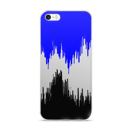Noir Paint Drip iPhone Case