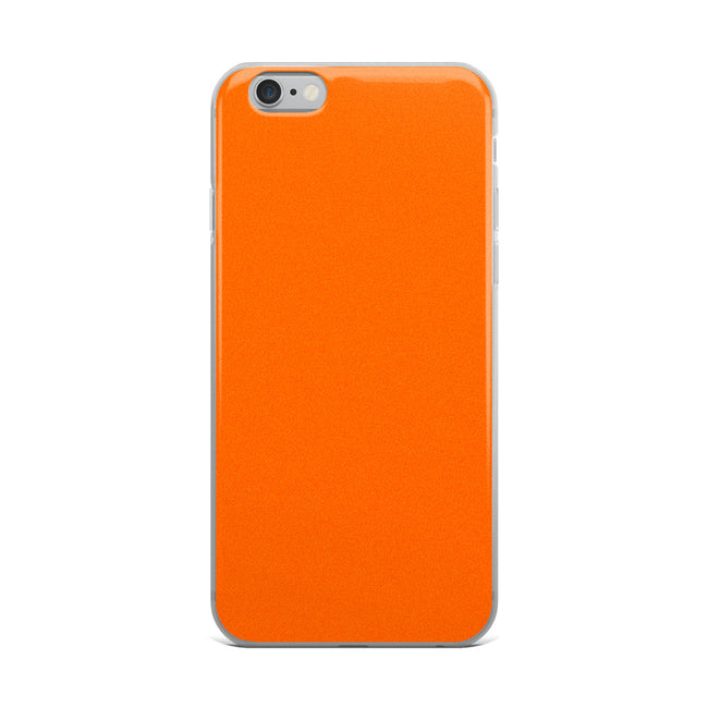 Sunset Orange iPhone Case