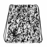 AMBRO Print Noir Film Static Drawstring bag