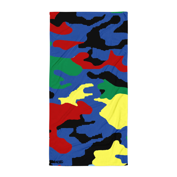 AMBRO World Map Beach Towel