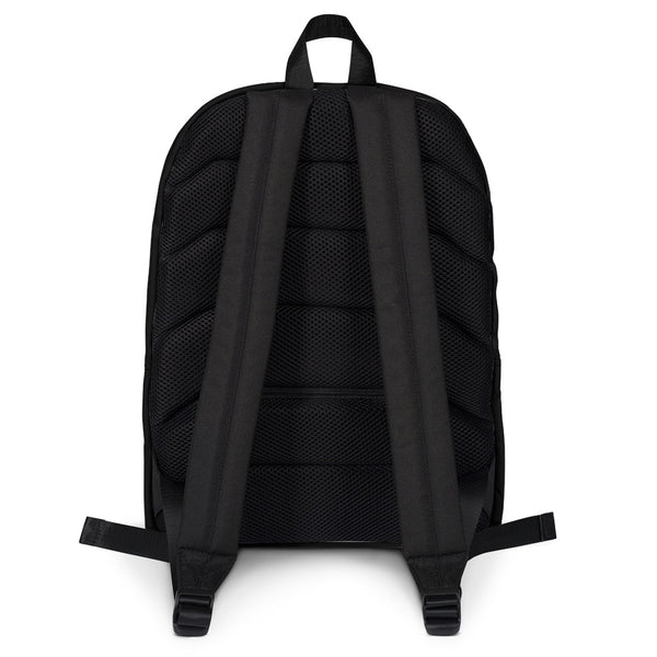 Black & White Whirling Backpack