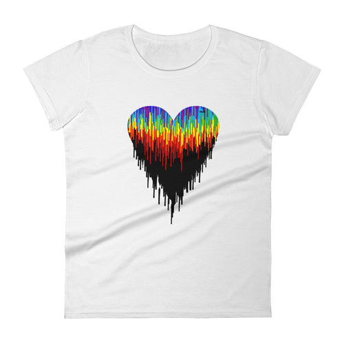 Psychedelic Heart Fashion Tee