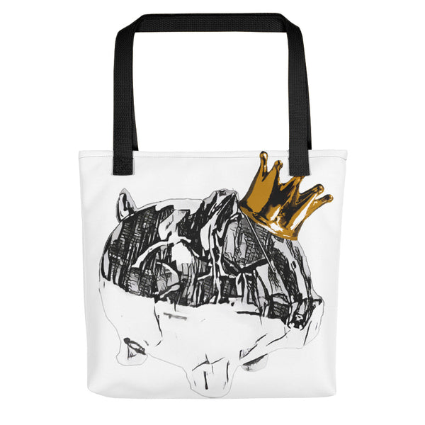 Big City King Piggy Tote bag