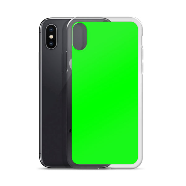 Bright Green iPhone Case