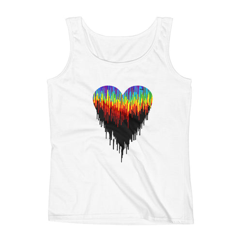 "Melted Heart ""Lose Fitted"" Tank"