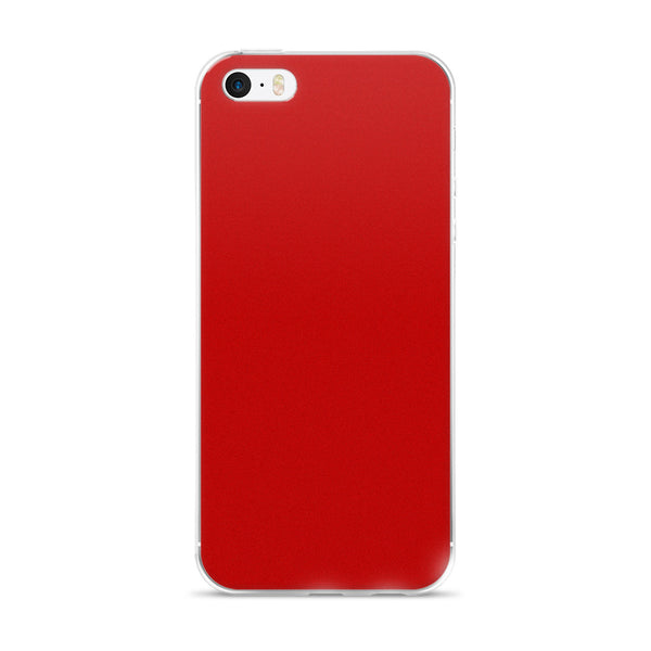 Power Red iPhone Case
