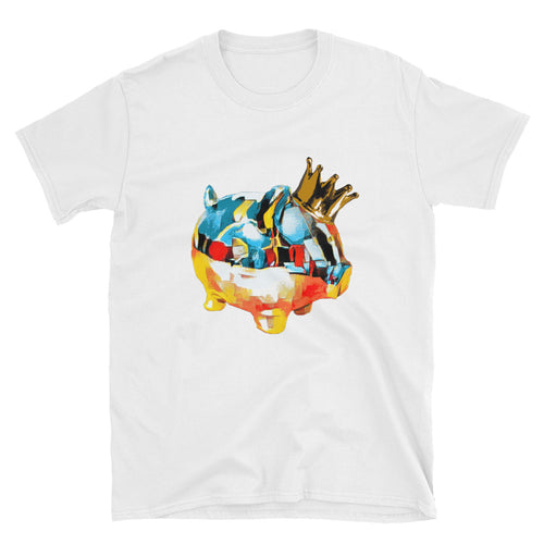 Artsy King Piggy Art Tee