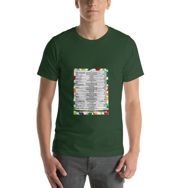 Cheat Sheet Gardeners Tee - Wear & Read
