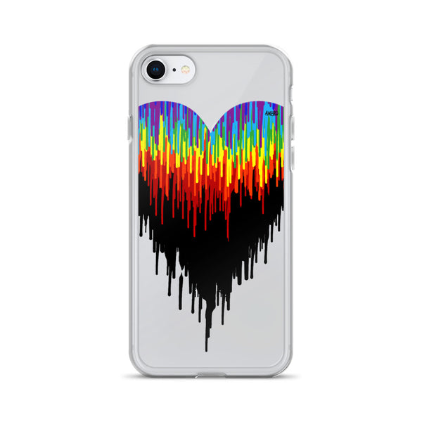 Psychedelic Heart iPhone Case
