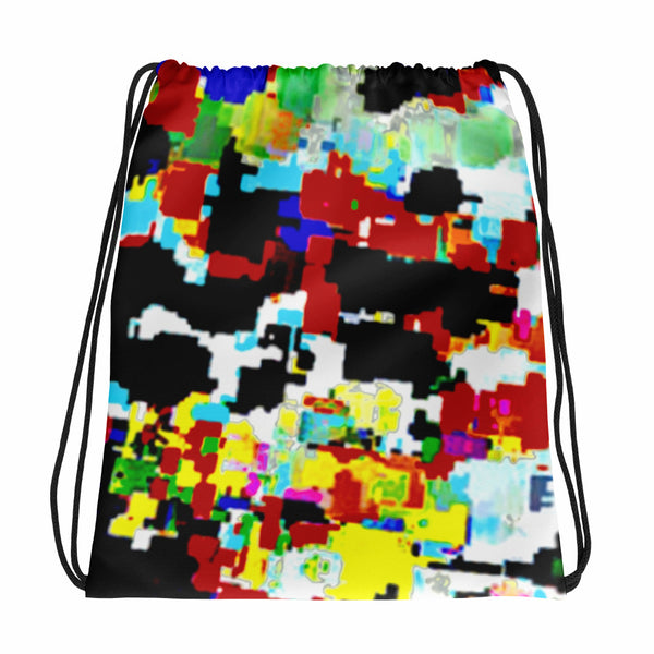 AMBRO Print Bano Graffiti Drawstring bag