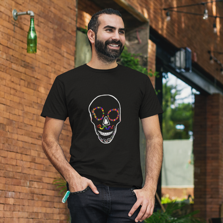 Binary Black AMBRO Art Tee