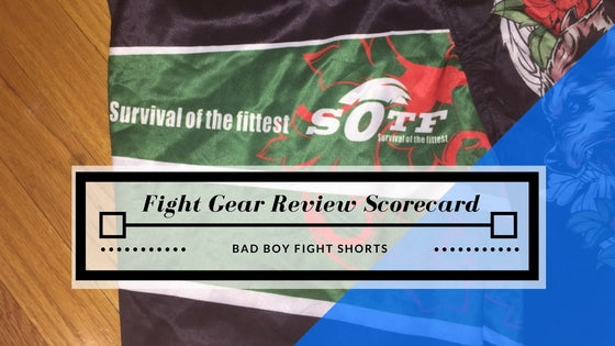 SOTF MMA Shorts Review