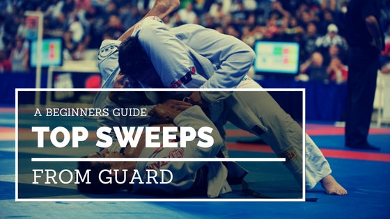 Best Sweeps from Guard for Beginners