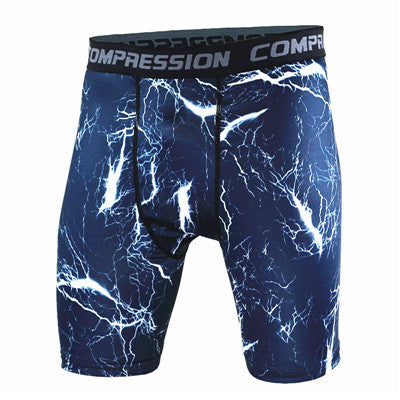 BJJ Compression Shorts - Lighting