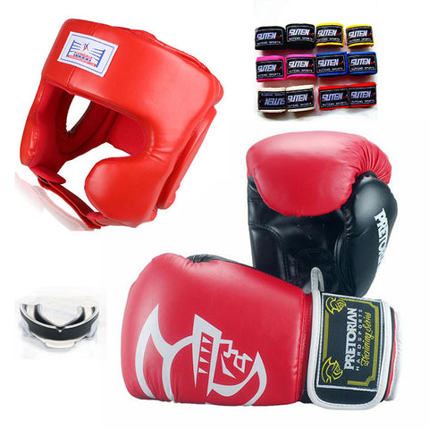 Boxing Sparring Gear Bundle