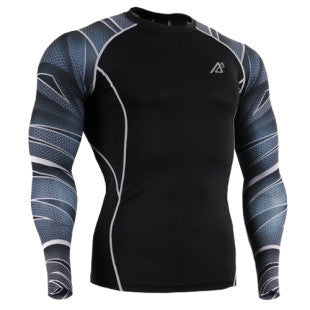 Life on Track Gansta Zebra Sleeves Compression Shirt