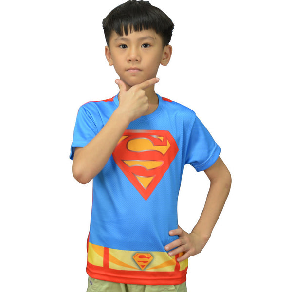 90's Superman Compression Shirt - Youth