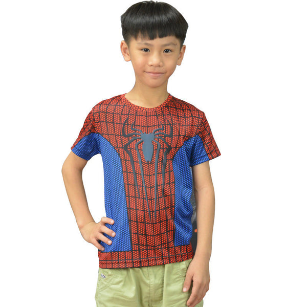 Amazing Spiderman Compression Shirt - Youth