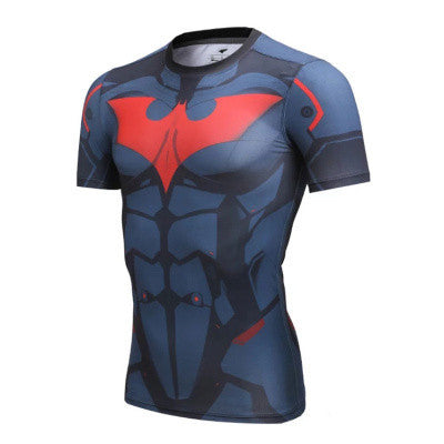 Batman Beyond Superhero Compression Shirt - Youth