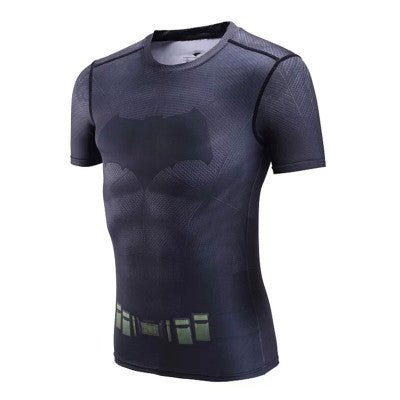 Batman Superhero Compression Shirt - Youth