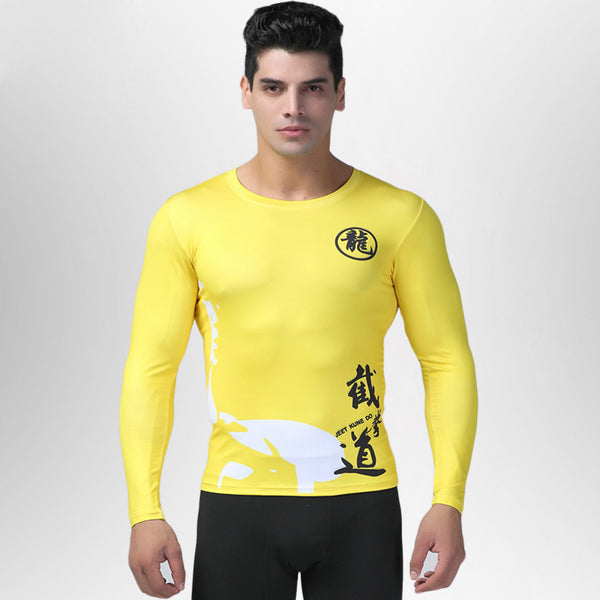 Bruce Lee Long-Sleeve Compression Shirt
