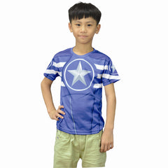 Captain America Compression Shirt - Youth