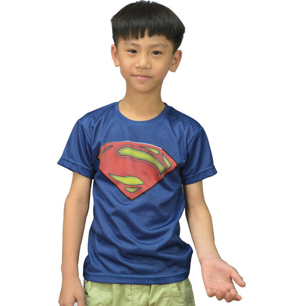 Casual Superman Compression Shirt - Youth