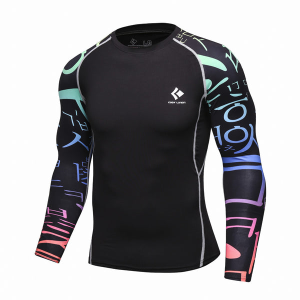 Codi Lundia MMA Long-Sleeve Compression Shirt - Rave