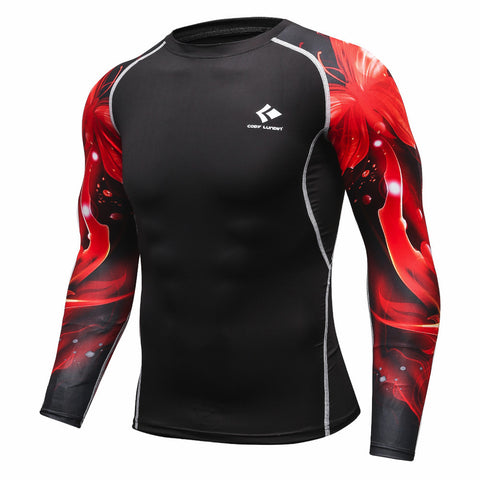 Codi Lundia MMA Long-Sleeve Compression Shirt - Sun Flare