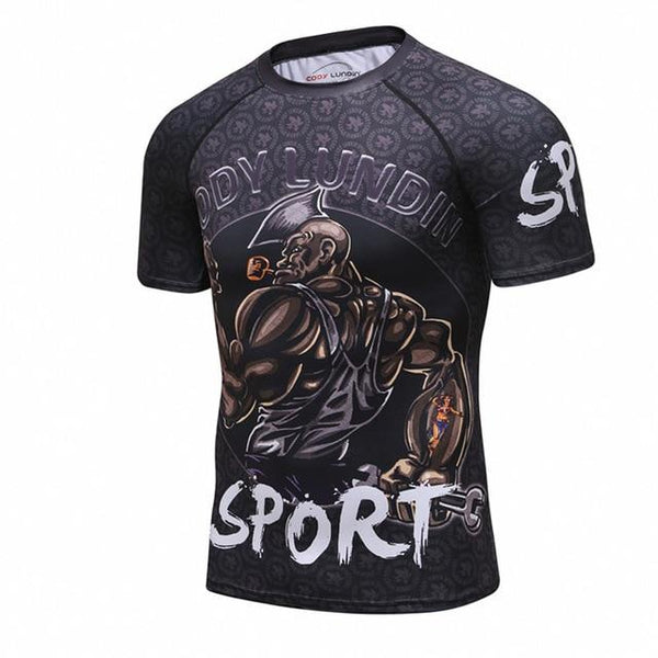 Cody Lundin Bodybuilder Rash Guard