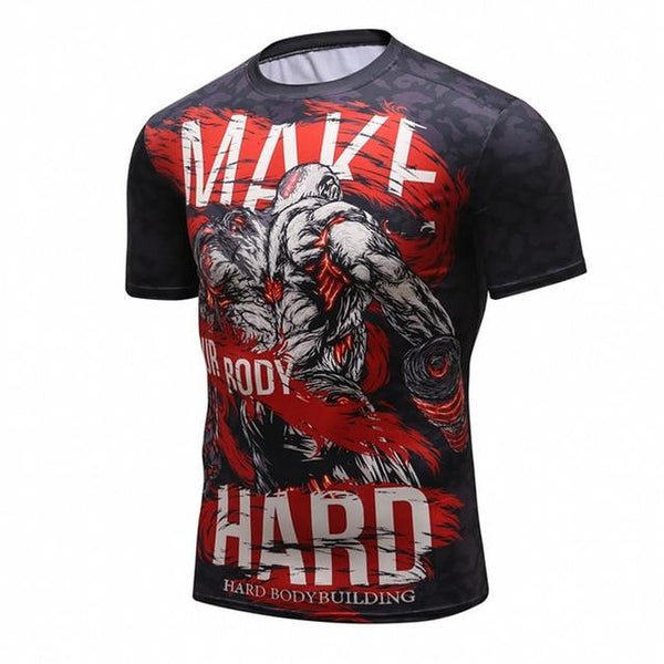 Cody Lundin Make Your Body Hard Rash Guard