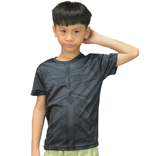 Dark Knight Batman Compression Shirt - Youth
