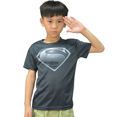 Dark Superman Compression Shirt youth
