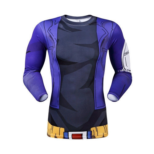 DBZ Trunks Workout Shirt - Long-Sleeve