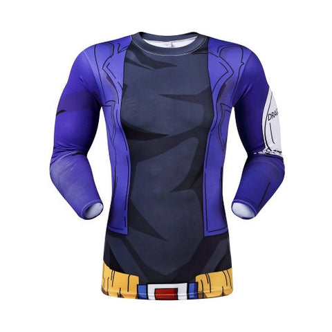 DBZ Trunks Long-Sleeve Compression Shirt