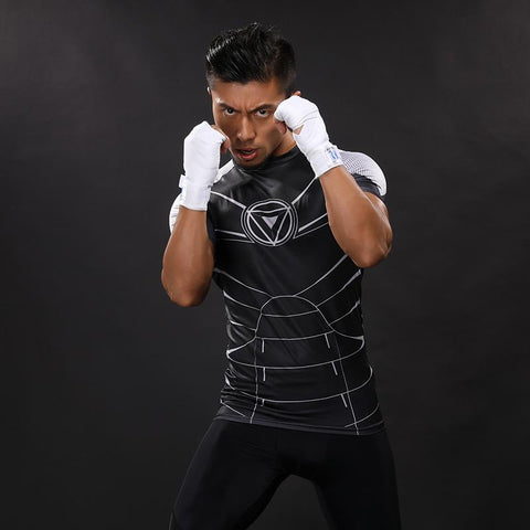 Iron Man Training Compression Shirt - Short Sleeve