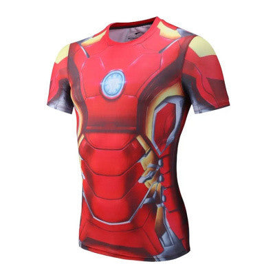 Ironman Mach 4 Superhero Compression Shirt - Youth